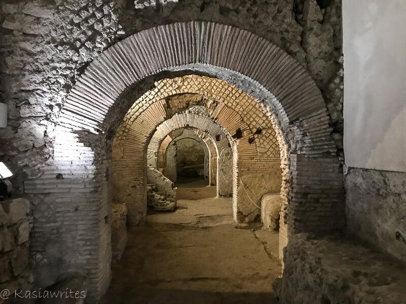 roman tunnels