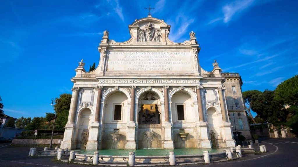 Attractions in Rome Fontanone