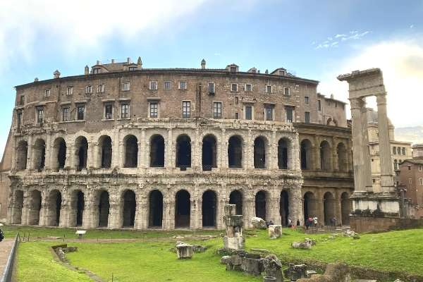 Theatre Marcellus attractions in Rome